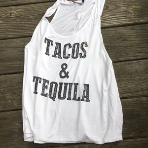 Tops - Tacos and Tequila Muscle tank 🌮